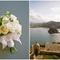 Un ramo de novia perfecto y vistas panorámicas para darle vida a esta boda - Foto Aaron Delesie