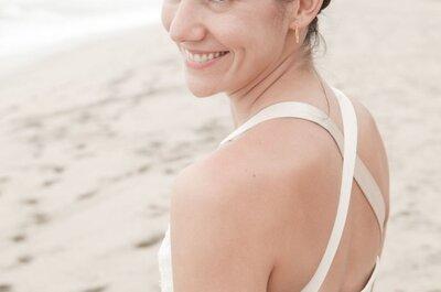 Recomendaciones para tu vestido de novia en tu boda de playa