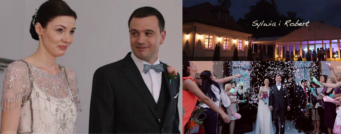 Sylwia i Robert mięli śliczny ślub! Polskie piękne wesele!