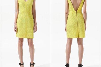 Fotos de vestidos amarelos para convidadas