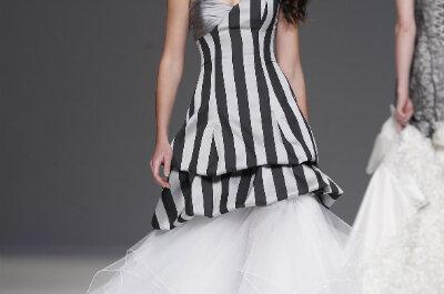 Vestidos de novia diferentes para novias no convencionales, ¿te atreves con ellos?