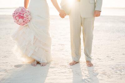 Cómo casarse en la playa: todas las claves para una boda frente al mar