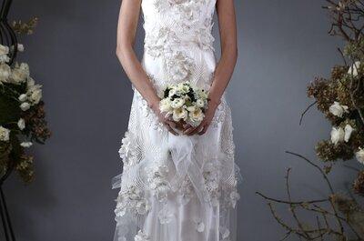 Vestidos de novia de Elizabeth Fillmore otoño 2014