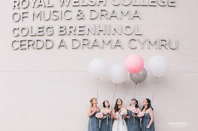 ¿Cómo agregar globos a la celebración del matrimonio?