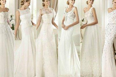 Adelanto de la colección de vestidos de novia Pronovias 2013