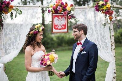 Wspaniałe wesele w plenerze Natalii o Tomasza. Nie przegap!