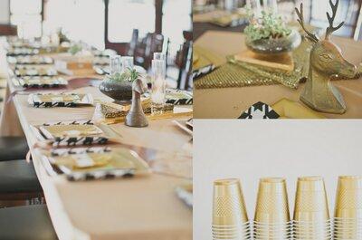 4 fáciles ideas para decorar tu boda que puedes hacer en casa