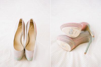 A la carta: zapatos de novia personalizados con diseño colombiano
