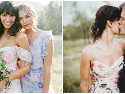 Weiche Farbverläufe für den Brautlook 2016: Der Schlüsseltrend für das kommende Hochzeitsjahr!
