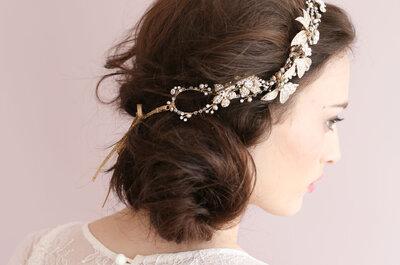 Cвадебные прически на длинные волосы 2015: красивые варианты причесок