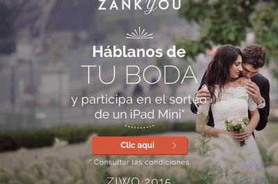 Gana un iPad mini con Zankyou, solo tienes que hablarnos de tu boda en esta encuesta
