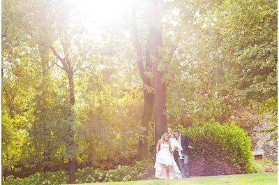 Jessica e Alessandro, un dolcissimo matrimonio... a 3!