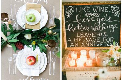 Boda rústica, Ideas para la decoración de tu boda