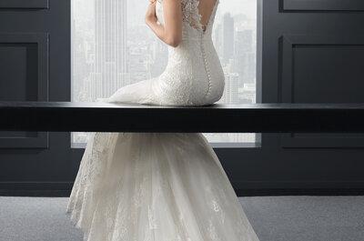 Pure Weiblichkeit: Die Brautkleid-Kollektion Two 2015 von Rosa Clará