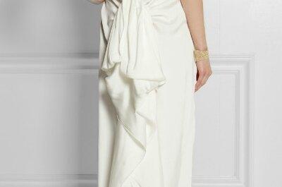 15 vestidos de novia para las chicas más cool y arriesgadas... ¡Los queremos todos!
