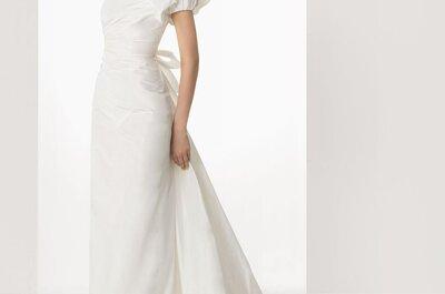 Robes de mariée au décolleté asymétrique