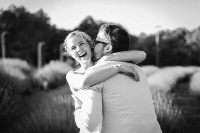 Découvrez le mariage dans le sud d'Anne et Alex, deux inconnus tombés amoureux dès le premier regard