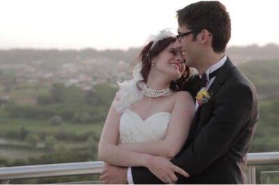 Um casamento com um olhar mágico