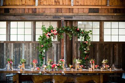 Los 7 detalles imprescindibles si quieres tener una boda vintage