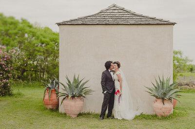 Una boda hecha con amor y 100% DIY: Así fue el gran día de Elisa y Abraham