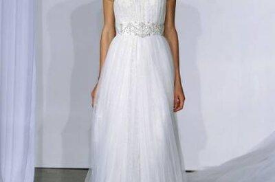 Vestidos de noiva Marchesa Coleção Outono 2013 na NY Bridal Fashion Week