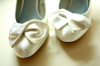 Bruidsschoenen: de top 5 trends van 2013