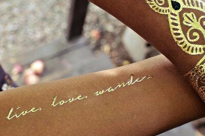 Un complemento para tu piel: ¡Flash tattoos!
