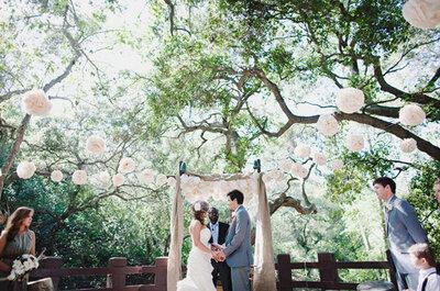 Alternativen für eine Hochzeitsdekoration – auch ohne Blumen!