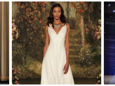 Encuentra el diseño perfecto para tu vestido de novia corte imperio 2016