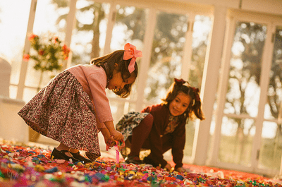 Minibuffet auf der Hochzeit für Kinder