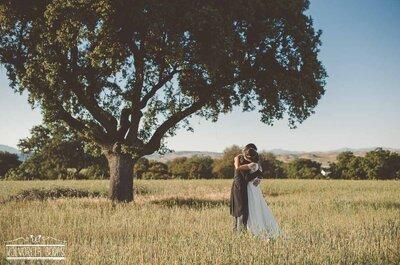 Amor en el campamento: la boda de María y Mario