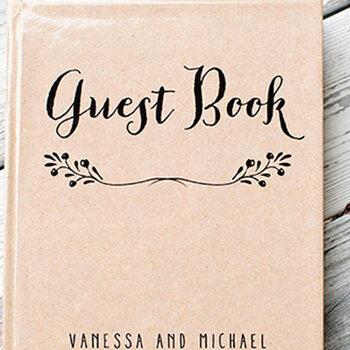 Originelle Gästebücher für die Hochzeit