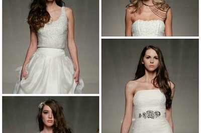 Bridal Hairstyles for 2013 at the White Gallery in London