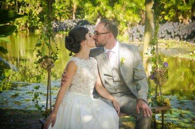 Casamento DIY ao ar livre de Clarice e Guilherme: muita música, arte e amor!