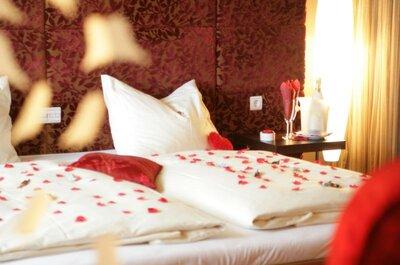 Romantisch: Die Honeymoon-Suite für die Flitterwochen buchen