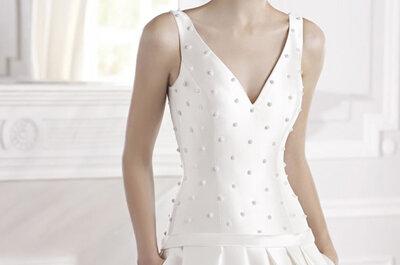 Os novos vestidos da colecção La Sposa 2015 para surpreender no seu casamento!
