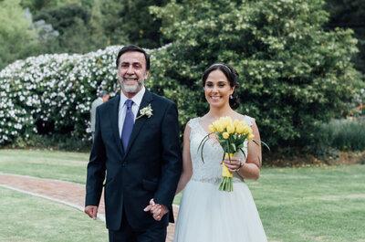 ¿Quién acompaña a la novia al altar? Conoce las nuevas tendencias y marca la diferencia