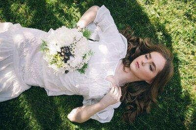 Узнайте, как создать образ для свадьбы, который подчеркнет вашу естественную красоту!