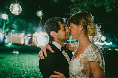 Inspiración nocturna: Una boda moderna con una ambientación exclusiva