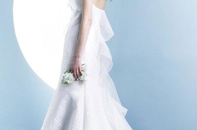 Ángel Sánchez primavera 2016: Vestidos de novia para princesas bohemias