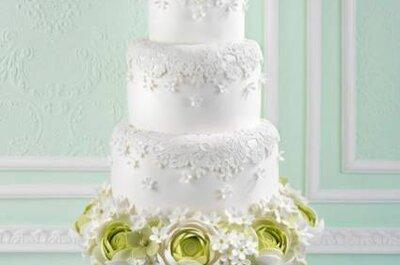 Bolos para seu casamento: lindas criações de Cake Haute Couture