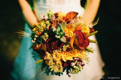 Seu buquê de noiva em São Paulo: 10 floristas que darão personalidade e brilho ao seu buquê