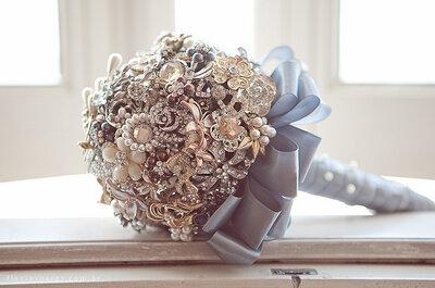 Tendencias 2013: ramos de novia originales y coloridos