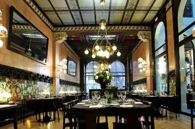 Celebra tu boda en Barcelona con un menú de boda de 6 estrellas Michelín