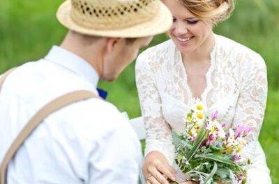 Bijzonder! Een bruidsboeket van je gasten