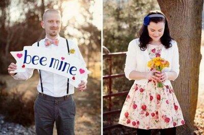 Che la forza di Cupido sia con voi... con un servizio fotografico prematrimoniale ispirato al giorno di San Valentino!