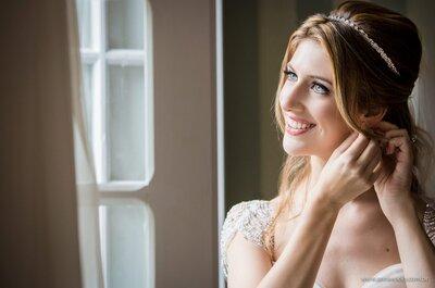 Medo de não estar linda e radiante no dia do seu casamento? 7 dicas que te ajudarão a brilhar!