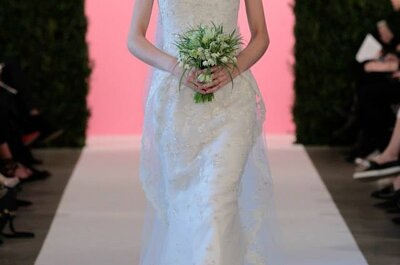 Robes de mariée Oscar de la Renta 2015 –  New York Bridal Week