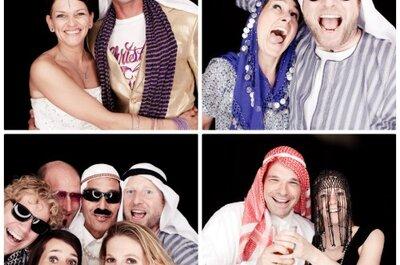 Fantastische foto's met een photobooth op je bruiloft!