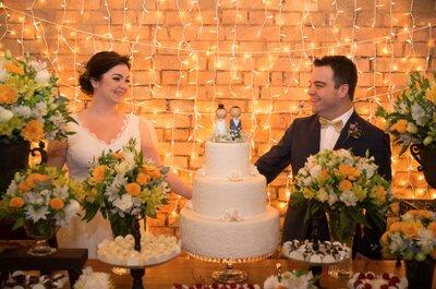 Mini wedding DIY rústico de Gabi & Marcelinho: personalizado e super romântico!